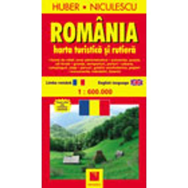 Harta Romania Harta turistica si rutiera