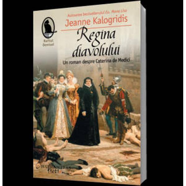 Istoria o judeca&131; aspru pe Caterina de Medici o regina&131; a Frantei adepta&131; a magiei negre ale ca&131;rei maini sunt pa&131;tate de sangele va&131;rsat in masacrul din Noaptea Sfantului Bartolomeu Romanul lui Jeanne Kalogridis ne arata&131; insa&131; o alta&131; Caterina o tana&131;ra&131; inteligenta&131; pe care rangul numele si averea o destinau unei ca&131;sa&131;torii de stat  Demna&131; de numele familiei sale care a dat Europei Renasterii conduca&131;tori