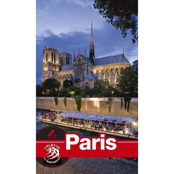 Seria de ghiduri turistice Calator pe mapamond este realizata în totalitate de echipa editurii Ad Libri Fotografi profesionisti si redactori cu experienta au gasit cea mai potrivita formula pentru un ghid turistic Paris complet