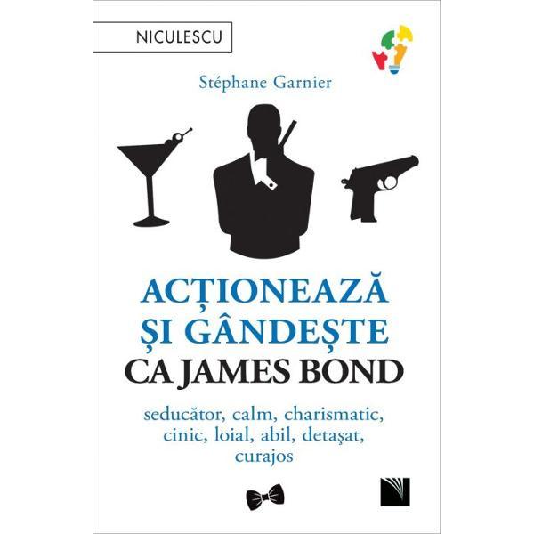 Consilierul meu pentru dezvoltare personal&259;este Bond James BondCare sunt secretele ce îl fac pe James Bond s&259; fie irezistibil &537;i în acela&537;i timp charismatic &537;i spiritualCe ne poate înv&259;&539;a agentul preferat al Majest&259;&539;ii Sale pentru a ne fi de folos în via&539;a de zi cu zi Nu este James Bond cel mai tare consilier pe care ni-l putem imaginaDeveni&539;i Agentul 007 al vie&539;ii