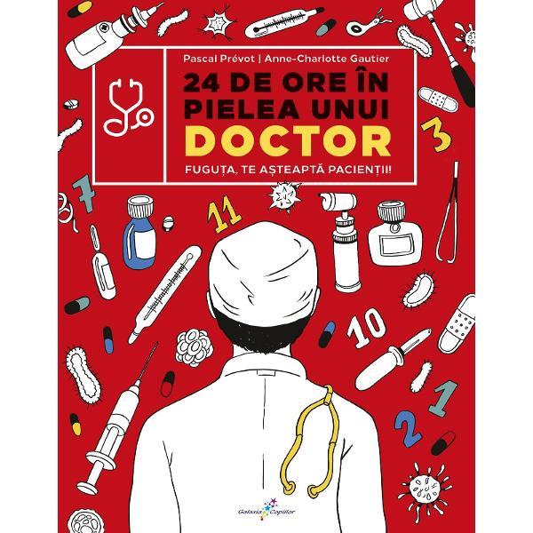 Fugu&539;a te a&537;teapt&259; pacien&539;iiAceast&259; carte interactiv&259; cu cititorul în rolul personajului principal este dedicat&259; familiariz&259;rii copiilor cu tot ceea ce înseamn&259; vizite la doctor &537;i proceduri medicaleZece pacien&539;i ajung la sec&539;ia Primiri Urgen&539;e cu afec&539;iuni precum apendicit&259; grip&259; fracturi amnezie boli contagioase &537;i altele Iar