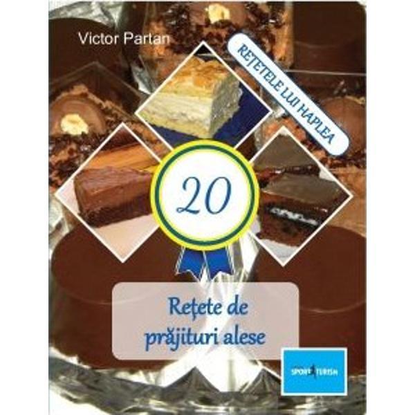 """S&259; avem o via&539;&259; dulce""""Norocul &539;i-l faci tu"""" se spuneÎmi place vorba asta Cred în eaCând pr&259;jiturile ies buneClipe dulci aduci în via&539;a taDin curprins- Brownies cu mousse de ciocolat&259;- Prajitura O noapte la Venetia- Pavlova cu ganache de ciocolata- Prajitura cu frisca si banane- Lava cake"""