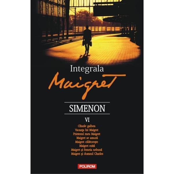 75 de romane si 28 de povestiri reunite in 10 volume care il au ca protagonist pe unul dintre cei mai indragiti detectivi ai secolului XXDin cuprinsCiinele galben • Vacanta lui Maigret • Prietenul meu Maigret • Maigret se amuza • Maigret calatoreste • Maigret ezita • Maigret si femeia