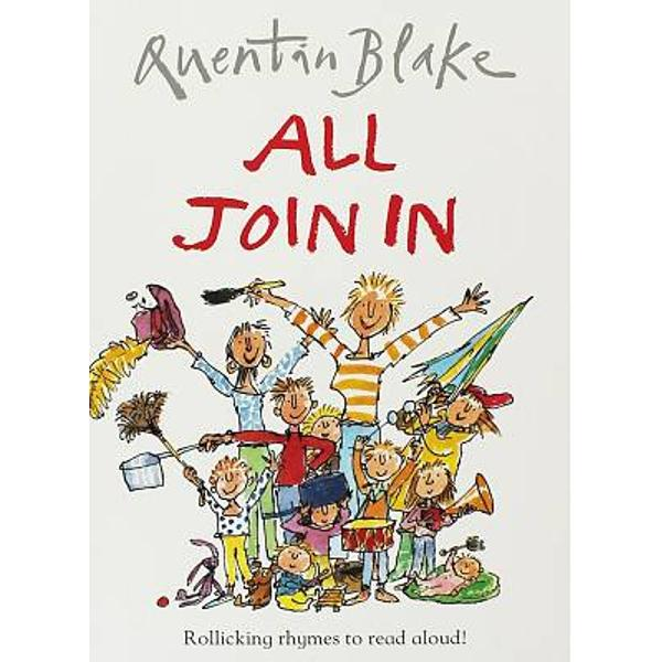 Author-illustrator Blake has another winner of a kids book here as he describes how there is noise to make and songs to sing but its best of all when we ALL JOIN IN Wonderfully noisy as kids can join in as you read it to them