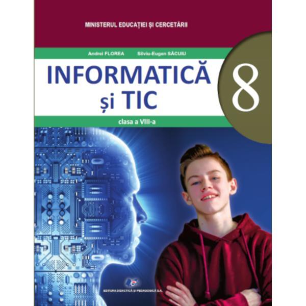 Manual informatica si tic clasa a VIII aEdituraDidactica si Pedagogica