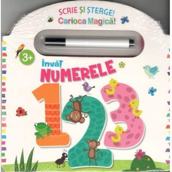 Aceasta carte este perfecta pentru ca cei mici sa invete numerele Varsta 3 Contine activitati educationale distractive