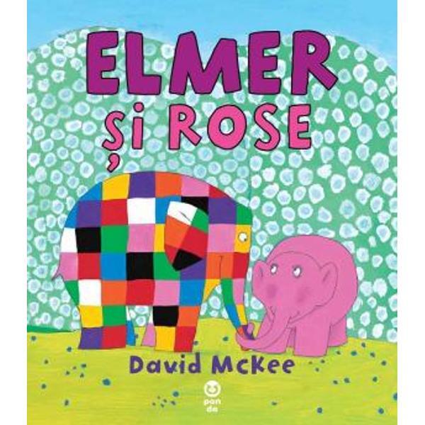 """Descoperi&355;i o nou&259; poveste despre identitate curaj iubire &537;i prietenieFace&355;i cuno&537;tin&355;&259; cu Elmer – elefantul multicolor care încânt&259; copiii din întreaga lume &351;i prietena lui Rose""""Înc&259; o carte frumoas&259; a acestui apreciat autor &537;i"""
