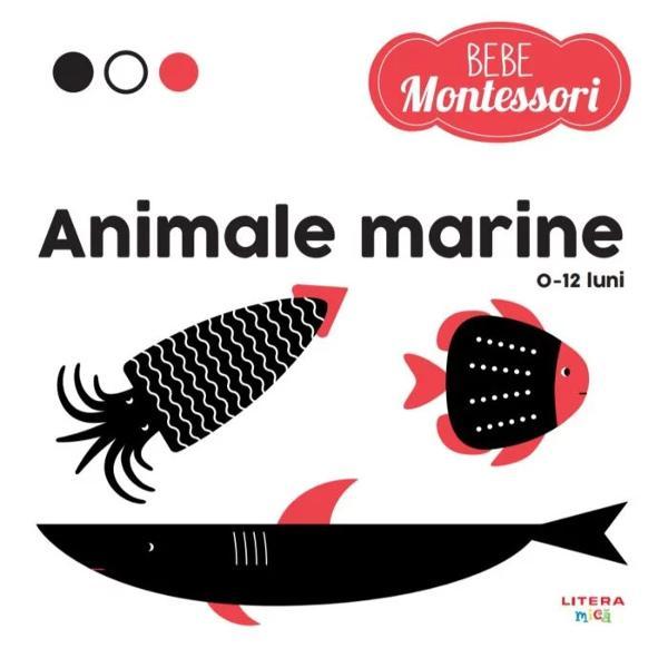 R&259;sfoie&537;te împreun&259; cu micu&355;ul t&259;u paginile acestei c&259;r&355;i inspirate de metoda MontessoriCopilul va putea urm&259;ri conturul viet&259;&355;ilor marine cu degetele va observa imaginile alb-negru va descoperi detaliile ro&537;ii &537;i va începe s&259; exploreze singur lumea