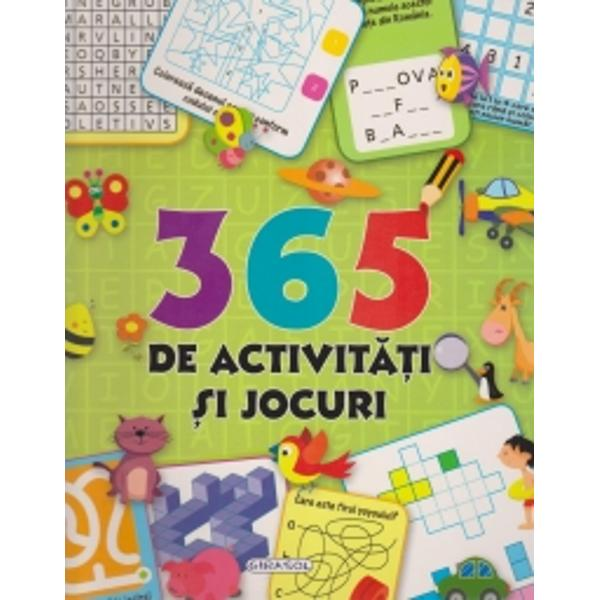 Aceasta este o carte cu o multime de activitati amuzante  labirinturi iluzii optice concentrare gandire logica cultura generala calcul aritmetic