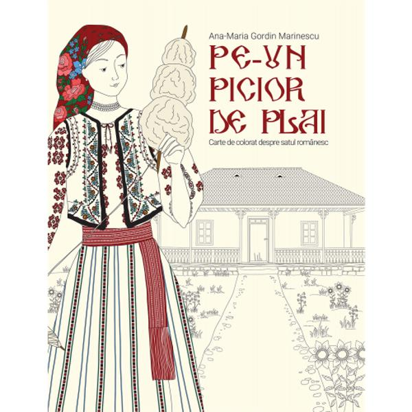 V&259; invit&259;m la o plimbare prin lumea satului românesc Singurele bagaje de care ave&539;i nevoie sunt instrumentele voastre preferate de colorat - creioane sau pensoane Autoarea v&259; este ghid prin regiunile României prezentându-v&259; peisaje &537;i obiecte care s&259; v&259; inspire &537;i care s&259; va fac&259; s&259; visa&539;i la bunici &537;i la copil&259;rieAceast&259; c&259;l&259;torie de-a lungul &537;i de-a