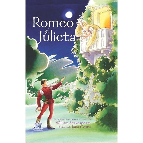 Pentru copiii peste11 ani Romeo &537;i Julieta se iubesc… dar cei din familiile lor sunt du&537;mani de moarte Petrecându-se în Verona Evului Mediu ora&537; al duelurilor cu sabia al secretelor &537;i al po&539;iunilor vr&259;jite povestea lor tragic&259; de dragoste se îndreapt&259; spre un final disperat