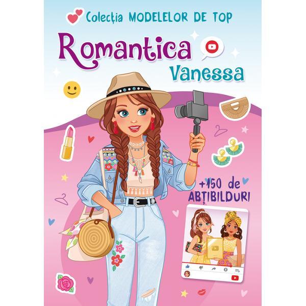 Vanessa este YouTuber-ul nostru favorit Fiind o mare romantica ea impartaseste toate sfaturile despre moda si frumusete abonatilor ei Toti fotografii si designerii din lume viseaza sa lucreze cu ea Decoreaza aceste pagini cu abtibildurile tale