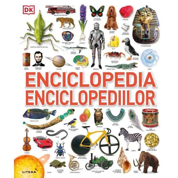 De la insecte incredibile &537;i dinozauri carnivori la pietre pre&539;ioase &537;i Roma antic&259; cartea î&539;i ofer&259; o lume de informa&539;ii pe fiecare pagin&259; Cu peste 10 000 de imagini &537;i o sumedenie de date fascinante despre &537;tiin&539;&259; natur&259; sporturi &537;i istorie aceasta este enciclopedia ilustrat&259; suprem&259;