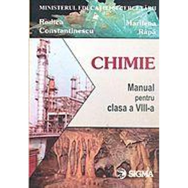 Chimie VIII - Rapa