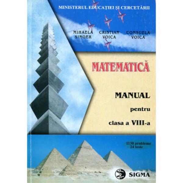 Matematica VIII Singer