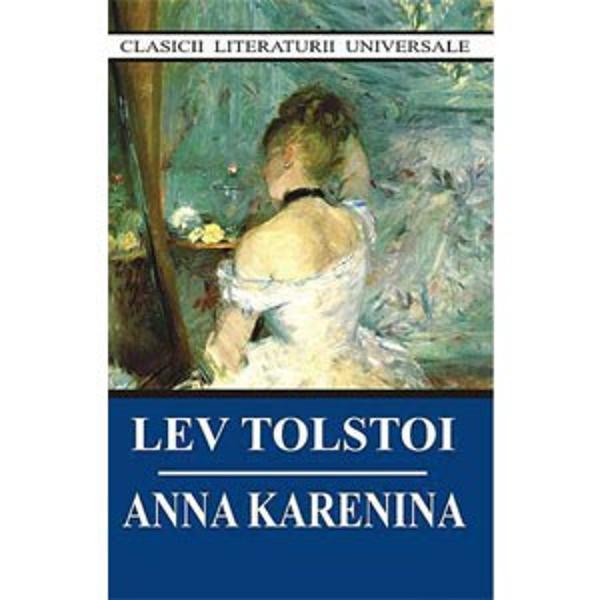 Lev Nicolaievici Tolstoi 1828 – 1910 este considerat din punct de vedere artistic unul dintre cei mai mari romancieri din istoria literaturii ruse a secolului al XIX – leaAnna Karenina apare in 1877 in forma sa definitive Romanul picteaza in culori vii societatea si viata din Rusia vremurilor de atunciTolstoi considera ca Anna Karenina a fost primul sau roman in adevaratul sens al cuvantului acesta fiind intr-adevar unul dintre cele mai importante romane