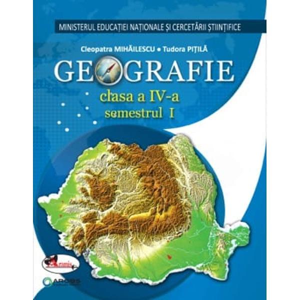 Manual de geografie clasa a IV a PitilaMihailescu editie noua