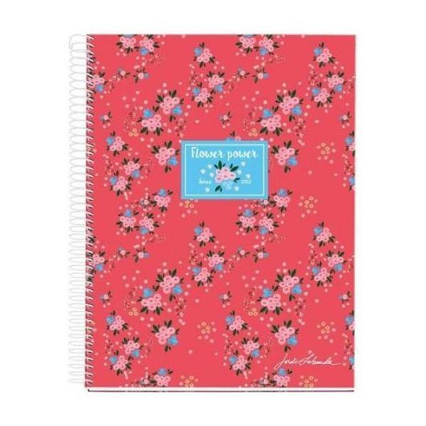Coperta carton invelit in hartie imprimataplastifiataInterior hartie extra opacade 70 gm² 120 file 30 pe culoare liniaturasi margini in 4 culoriLiniatura patratele5mm