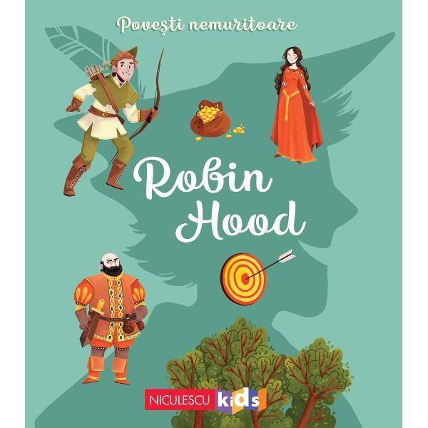 ROBIN HOODPân&259; la întoarcerea regelui Richard care a fost luat prizonier Robin Hood &537;i prietenii s&259;i au jurat s&259;-i protejeze pe cei lipsi&539;i de ap&259;rare Haiducii sunt hot&259;râ&539;i s&259; fac&259; dreptate luptând împotriva jafurilor prin&539;ului John &537;i ale &537;erifului din NottinghamDup&259; o legend&259; medieval&259;Adaptare Charlotte Grosset&281;teIlustra&539;ii Masha
