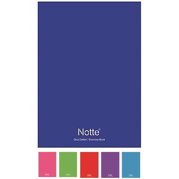Caietul Notte Schoolin formatA5este ideal pentru utilizarea de catre copiii din clasele primare generala si liceuCoperta acestuia este dincarton laminat iar fiecare caiet contine40 de fileCaietul este dintr-ohartie de inalta calitate de 60 gsi filele suntcapsateCaracteristici