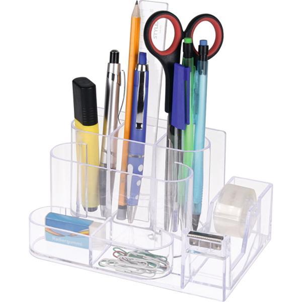 Suport pentru instrumente de scris Include banda adeziva 19 mmx10 mAmbalat in cutie de carton