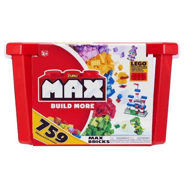 Construiti mai mult cu blocurile de constructie de jucarie premium MAX BuildCaramizile Max sunt fabricate din materiale de inalta calitate si sunt foarte rezistenteCombinati acest set cu alte seturi de la Zuru Max Build sau alte branduri compatibile precum LegoConstruieste mai mult cu Zuru MaxSetul include- 759 caramizi Max BuildVarsta recomandata3 aniAvertisment Contraindicat