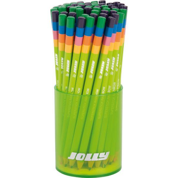 Creion cumina cu4 culoricreeaza un efect de curcubeu