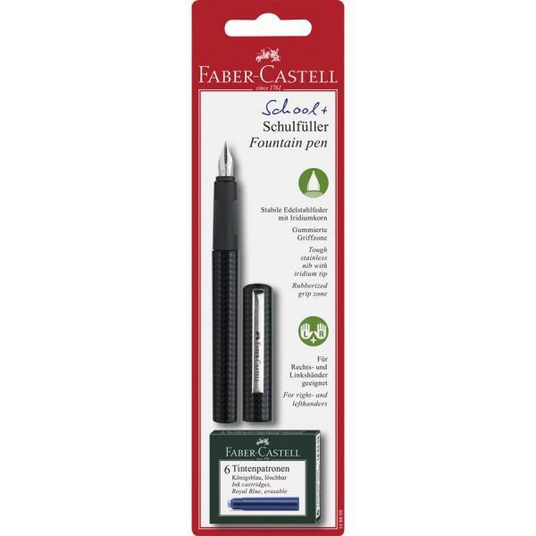 Clip din metal rezistentGrip cauciucat pentru o prindere usoaraPenita rezistenta din otel inoxidabil6 Cartuse cerneala incluse