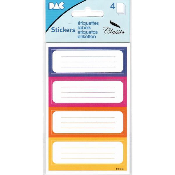 Etichete scolare clasice autoadezive G01010