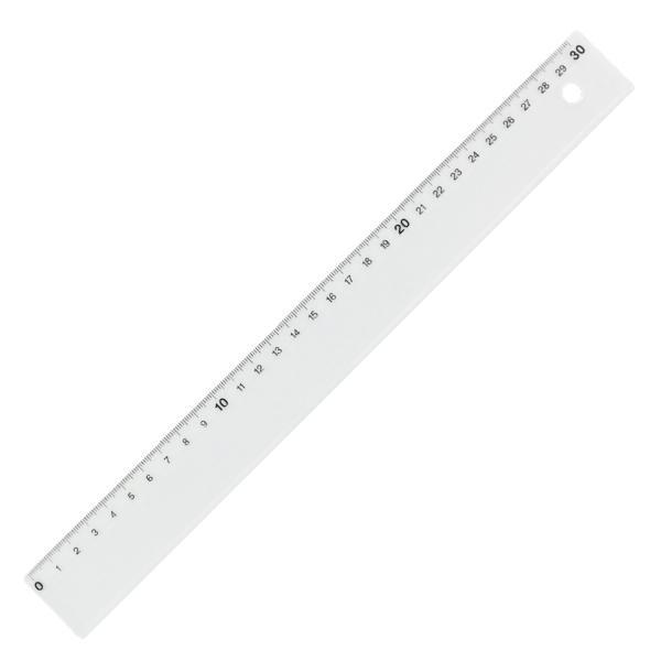 Rigla KUM transparenta L3 30cm K2010809