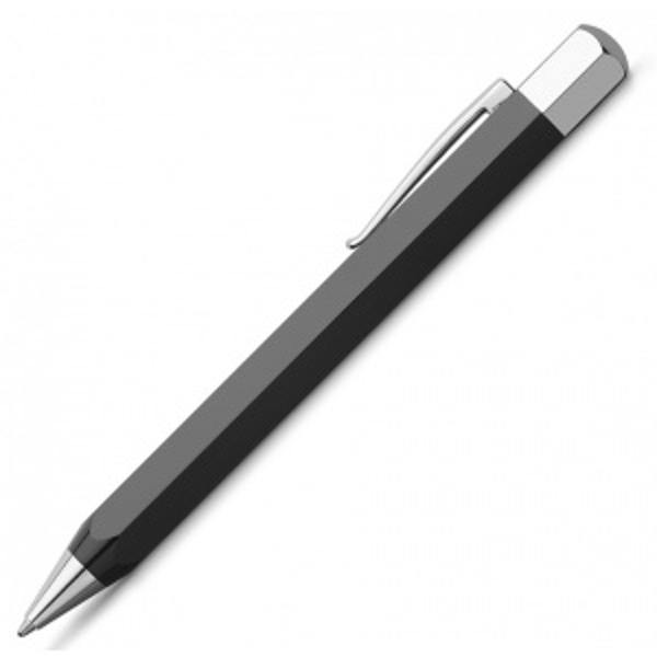 PIX ONDORO NEGRU - Faber-Castell• corp confec&355;ionat dintr-o r&259;&351;in&259; rar&259; neagr&259;• clip rezistent &351;i vârf de metal cromat• mecanism ac&355;ionat prin rotire• rezerv&259; de culoare neagr&259; grosime B