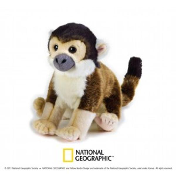 Jucarie din plus National Geografic Maimuta-veverita 25 cmDescopera lumea animalelor alaturi de National GeographicEste o linie create pentru a satisface cerintele publicului pentru cele mai pretentioase si dificile gusturi Sunt prezente animale foarte speciale realizate