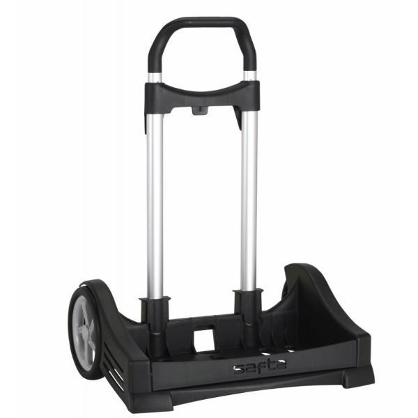 Troler Evolution negru pentru RucsacTroler Evolution negru pentru Rucsac&160;este un element esential conceput pentru confortul tau Poti sa iti atasezi ghiozdanul sau rucsacul pentru a-l putea transporta mai usor oriunde te-ai duceDimensiuni 40x50x15 cm