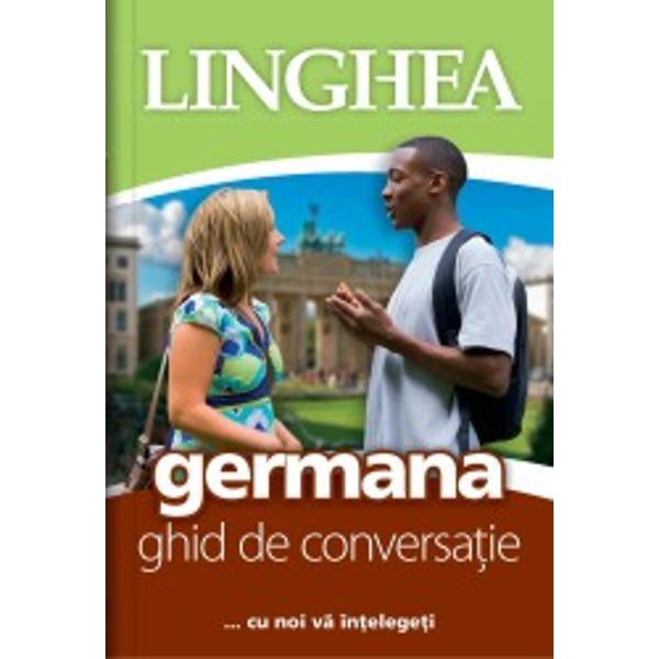 Conceput pentru orice fel de situa&355;ie &351;i nevoie ce ar putea ap&259;rea atunci când v&259; afla&355;i printre vorbitori ai limbii germane ghidul Linghea promite conversa&355;ii reu&351;ite Lucrarea vizeaz&259; comunicarea activ&259; &351;i are un format care permite orientarea u&351;oar&259; în text