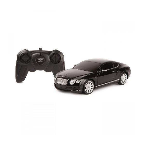 Masina cu telecomanda Bentley Continental GT scara 1 la 24replica oficiala cu licenta a modelului original construita cu mare atentie la detalii de producatorul international Rastar producator specializat in jucariile de tip vehiculViteza deplasare - aprox 10kmhTractiune 2WDAnvelope de cauciucSe poate deplasa in toate directiile inainte inapoi stanga sau dreaptaPosibilitate de reglaj a
