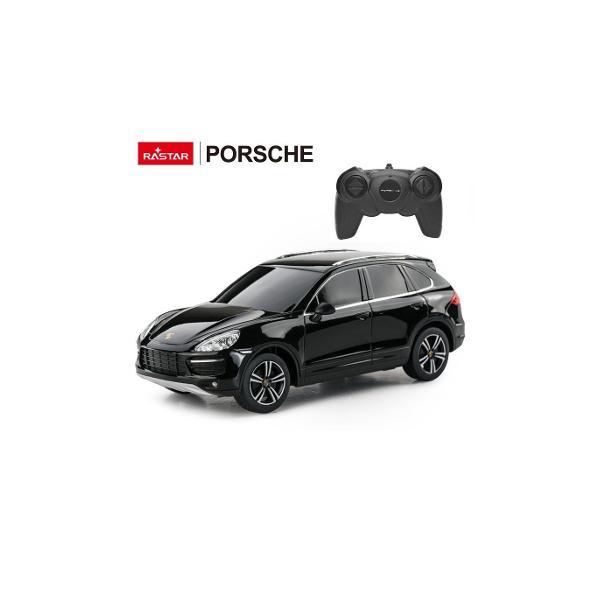 Masina cu telecomanda Porsche Cayenne Turbo scara 1 la 24replica oficiala cu licenta a modelului original construita cu mare atentie la detalii de producatorul international Rastar producator specializat in jucariile de tip vehiculViteza deplasare - aprox 10kmhTractiune 2WDAnvelope de cauciucSe poate deplasa in toate directiile inainte inapoi stanga sau dreaptaPosibilitate de reglaj a