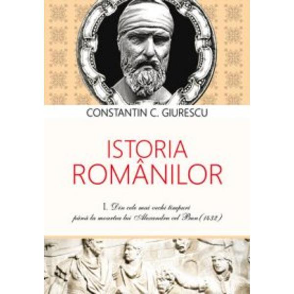 Istoria romanilor Vol I-IIILucrarea reproduce edi&355;ia sa a III-a publicat&259; de reputatul istoric începând din anul 1938 în colec&355;ia Biblioteca enciclopedic&259; a Funda&355;iei pentru literatur&259; &351;i art&259; Regele Carol II &351;i pe parcursul a trei volume cuprinde istoria poporului roman din cele mai vechi timpuri pân&259; la sfâr&351;itul epocii fanariote Fidel