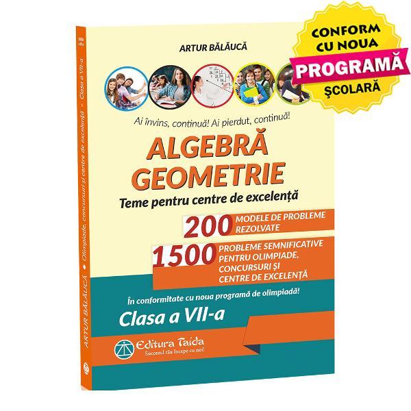 Algebra geometrie teme pentru excelenta clasa a VII a