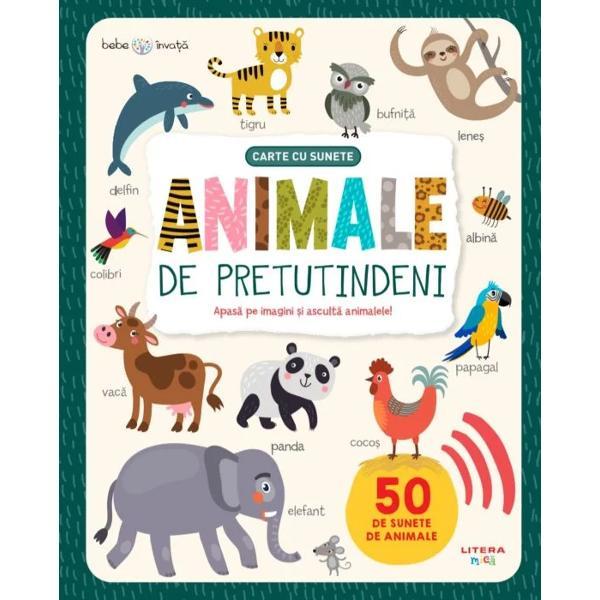 """Ascult&259; cum """"vorbesc"""" animaleleCum face vaca Dar elefantul Ce sunete scoate pi&539;igoiulPeste 50 de animale diferite prind via&539;&259; prin ap&259;sarea unui butonLa ferm&259; în savan&259; sau în jungl&259; – po&539;i asculta sunetele pe care le scot animalele de peste tot"""