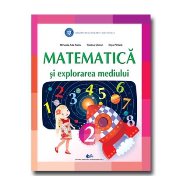 Manual matematica si explorarea mediului clasa a II a editia 2020 Chiran Piriiala
