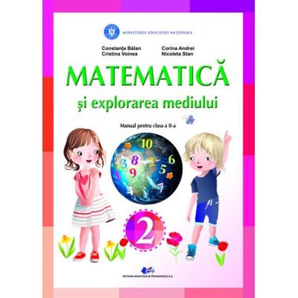 Manual matematica si explorarea mediului clasa a II a editia 2021 Balan Voinea
