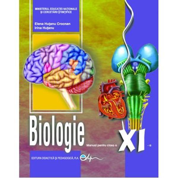 Manual biologie clasa a XI a editia 2019