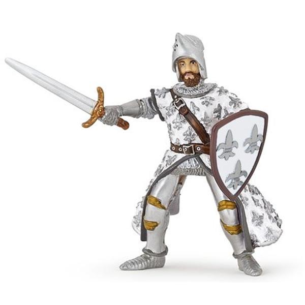 Pregateste-te sa intri pe taramul de lupta alaturi de figurina Printul Filip alb Acesta este pregatit de lupta si gata sa te conduca spre o noua victorieDimensiuni 45 x 9 x 2 cm