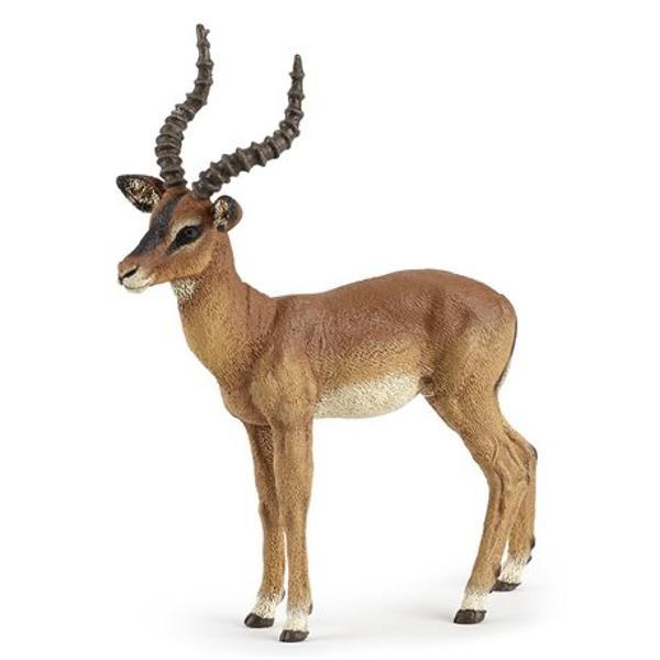 Figurina Impala este o jucarie educationala care poate fi colectionata de catre copii de toate varstele completand colectia Papo - Animale salbaticeNu contine substante toxiceDimensiune 95 x 11 x 2 cmVarsta 3