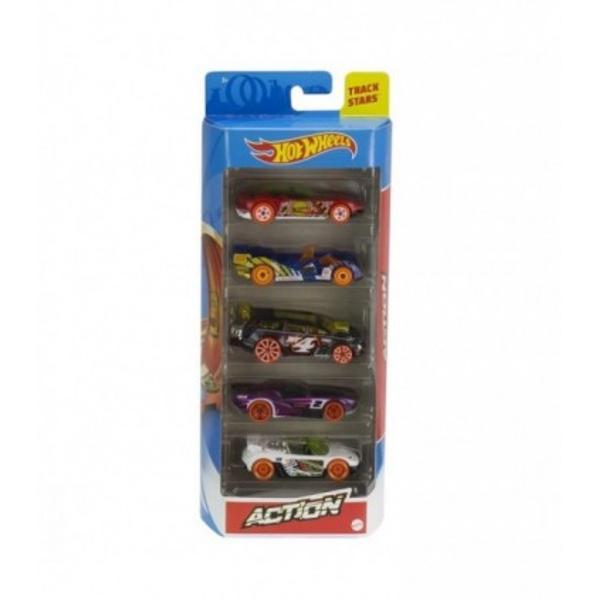Masini de curse masini sport o multitudine de culori si diferite stiluri Masinutele sunt alegerile perfecte Pentru copii si colectionari Alegerea ideala pentru un cadou destinat copiilor ce indragesc masinile si drift-urile Setul contine 5 masinute HW Action