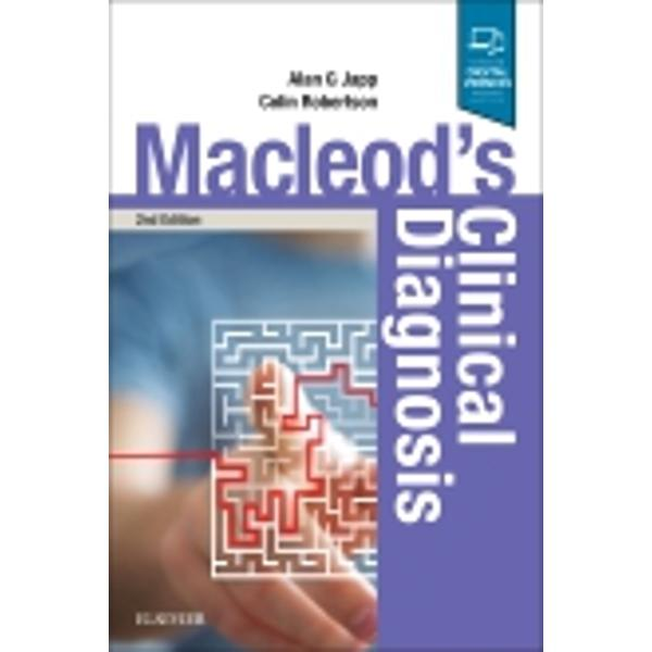 Macleod's Clinical Diagnosis demonstrates how to apply the core clinical skills learned from the companion textbook Macleod's Clinical Examination to maximum advantage Charting the course from routine work-up to diagnosis this book presents a modern and realistic approach to clinical assessment and explains how to integrate information obtained from the history examination bedside tests and specialised investigationsThe first
