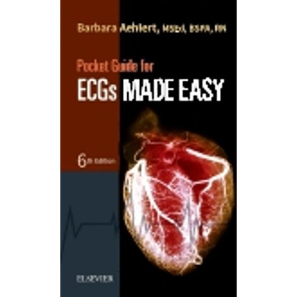 Get quick access to essential ECG information with thePocket Guide for ECGs Made Easy Reflecting the American Heart Association's ECC resuscitation guidelinesthis full-color guide contains key points and selected ECG rhythm strips to help you correctly identify ECG rhythms whether you're in the classroom or in the field Each rhythm covered in the guide includes a brief description a summary of heart rhythm characteristics and a