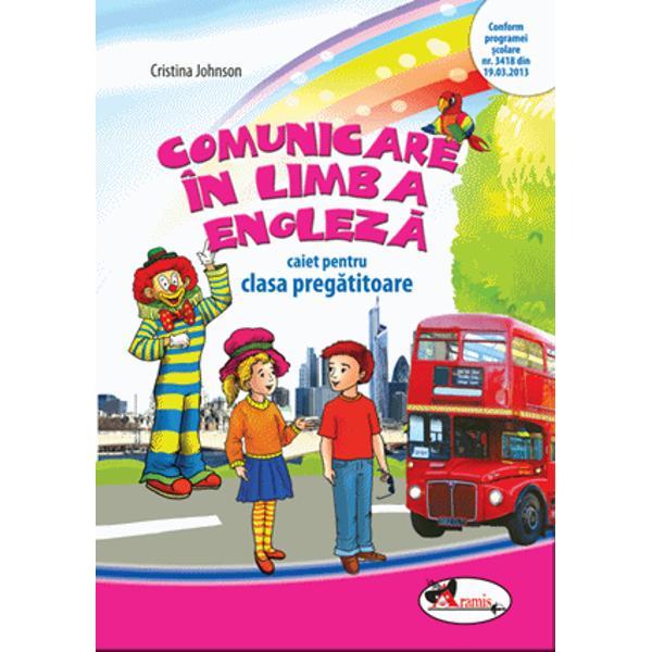 Caietul v&259; propune un con&539;inut bogat sus&539;inut de un suport imagistic deosebit menit s&259; ajute la însu&537;irea corect&259; a sunetelor din limba englez&259; la îmbog&259;&539;irea vocabularului cu termeni care reprezint&259; obiecte din mediul familiar &351;i conduc la dezvoltarea încrederii copiilor în deprinderea unei limbi str&259;ineÎnv&259;&539;area limbii engleze de la o vârst&259; mic&259; confer&259;