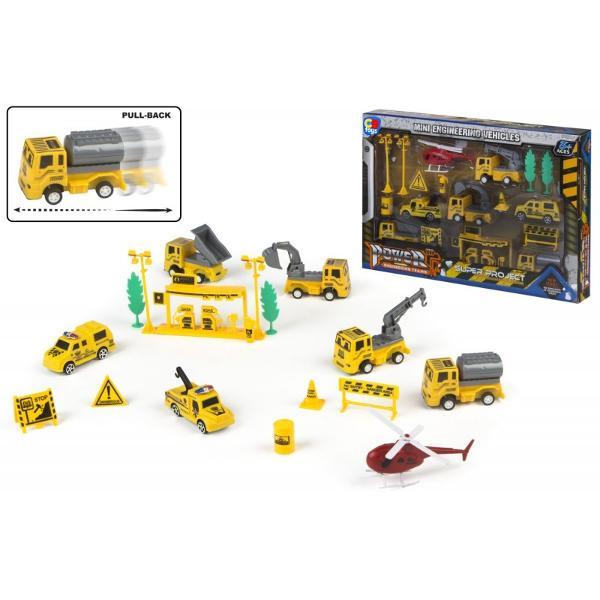 Set masini constructieDimensiune cutie 42 x 5 x 29 cm