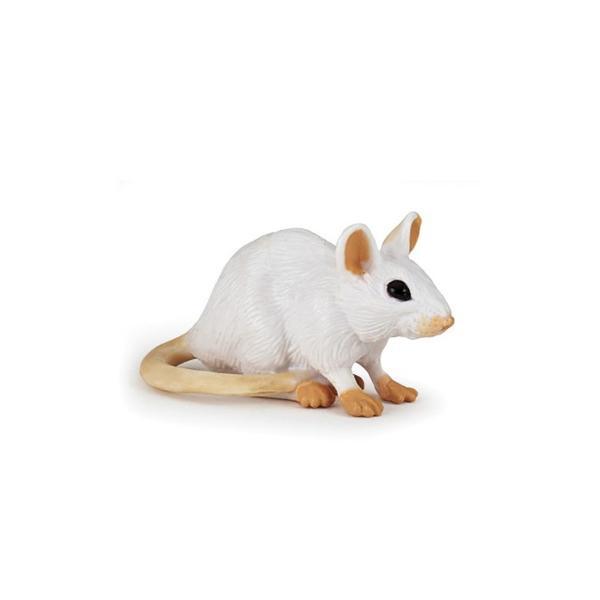 Figurina Papo - Soarece albJucaria&160;Soarece alb&160;este o figurina pictata manual care aduce produsul foarte aproape realitate prin cele mai mici detalii realizate cu o acuratete inalta&160;Figurina&160;Soarece&160;alb&160;poate fi o jucarie educationala pentru copii dar si o piesa de colectie pentru pasionatii fara varstaNu contine substante toxiceDimensiune  3x5x2&160;cm;Varsta 3 ani